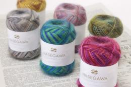 SEIKA SPACE DYED / SILK MOHAIR YARN / 25gram