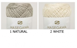 RYOFU[NATURAL/WHITE] / SILK LINEN YARN / 50gram